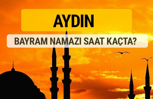 Aydın Kurban bayramı namazı saati - 2017