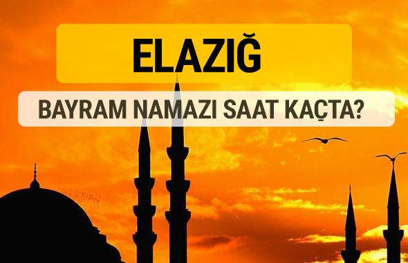 Elazığ Kurban bayramı namazı saati - 2017