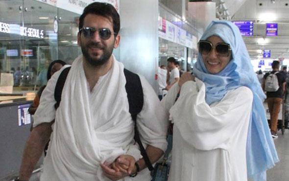 Murat Yıldırım, eşi ve ailesiyle kutsal topraklara gitti