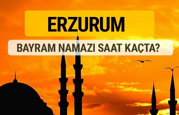 Erzurum Kurban bayramı namazı saati - 2017