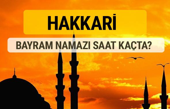 Hakkari Kurban bayramı namazı saati - 2017