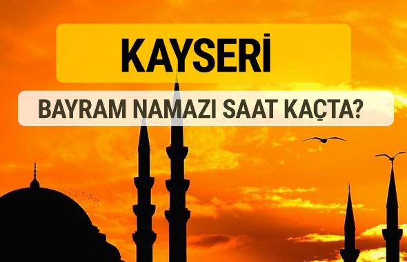 Kayseri Kurban bayramı namazı saati - 2017