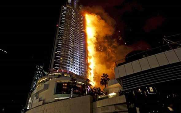 Dubai'deki 86 katlı Torch kulesinde yangın