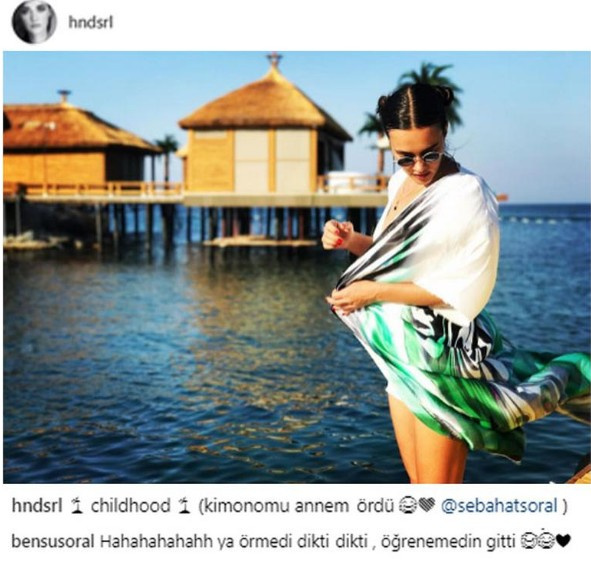 Bensu Soral'dan ablası Hande Soral'a jet yanıt!