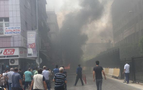 Adana'da adliye önünde dehşet anları