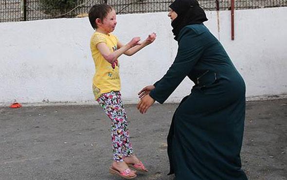 Küçük Hiba, annesi ve kardeşlerine kavuştu