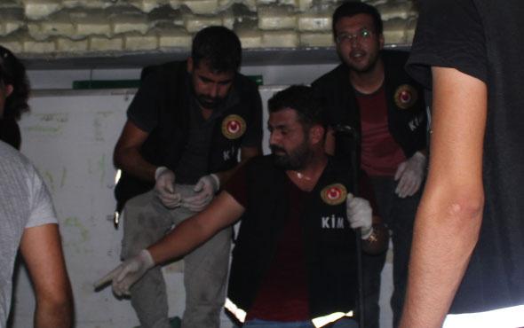 Mersin'de gemiye baskın içinden çıkanlara bakın şok!