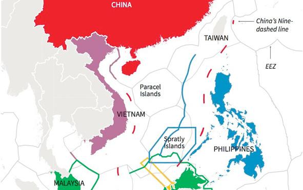 Üç ülkeden Güney Çin Denizi çıkışı bir an önce...