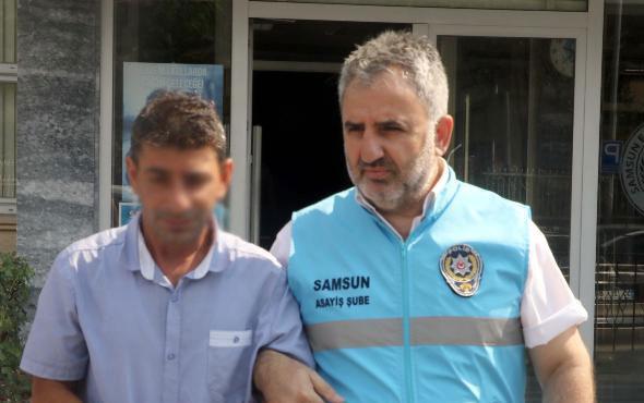 Tacizciyi adım adım takip ederek polise yakalattı