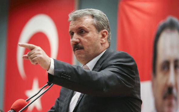 BBP lideri Destici'den sert tepki: Yenilir yutulur değil