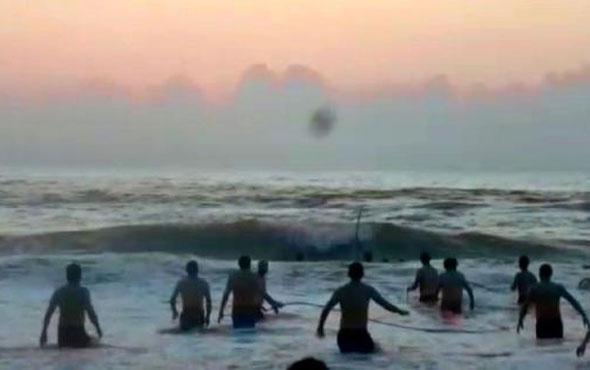 Ereğli'de denize girmek yasaklandı