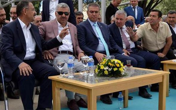 Bakan Özhaseki'nin katıldığı şenlikte gerginlik yaşandı!