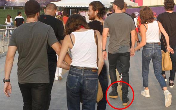 Görenler tanıyamadı! Sıcak havada botlarını çıkarmadı