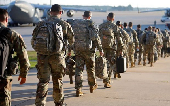 ABD askeri üssünde patlama: Çok sayıda yaralı var!