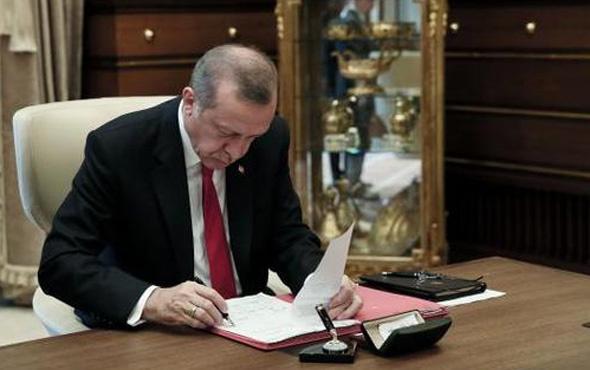 Erdoğan bir üniversiteye rektör atadı