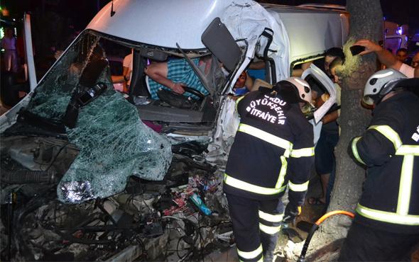 Ordu'da iki minibüs çarpıştı: 5 yaralı