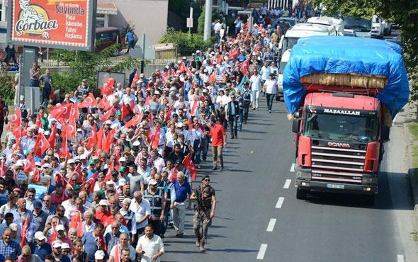 CHP'nin 2. Adalet Yürüyüşü başladı