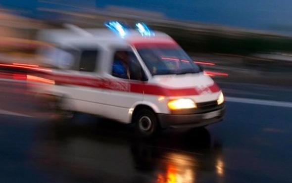 Ankara'da servis minibüsü kaza yaptı