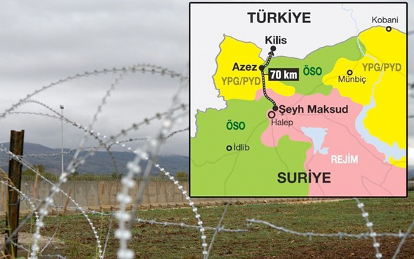 MİT ve polisten Suriye'de müthiş operasyon