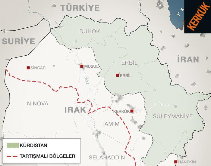 Kerkük petrolü kimin? En çok Kürt mü Türkmen mi var?