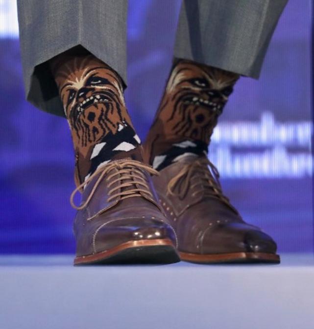 Kanada Başbakanı'nın çorapları yine olay