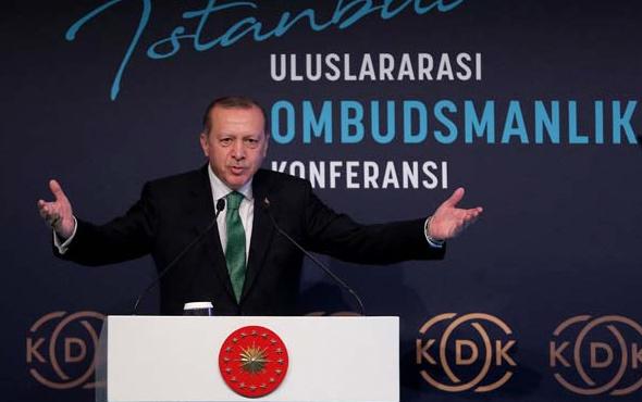 Erdoğan'ın konuşmasını pür dikkat dinlediler