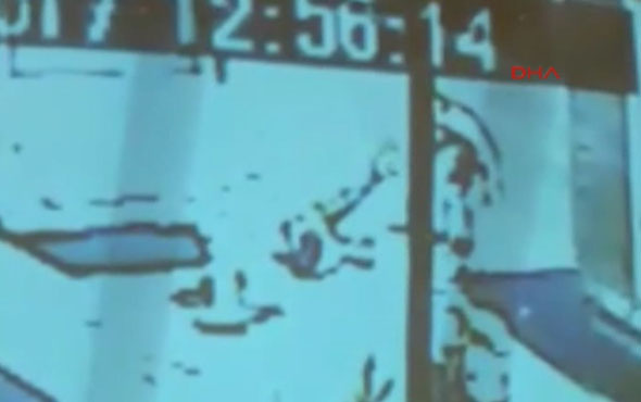 'Kıskançlık' cinayeti kamerada