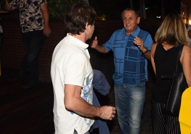 Kaya Çilingiroğlu gecelere aktı sarışın kadınla fena yakalandı