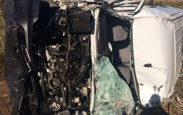 Bursa'dan korkunç görüntüler feci kazada onlarca ölü var
