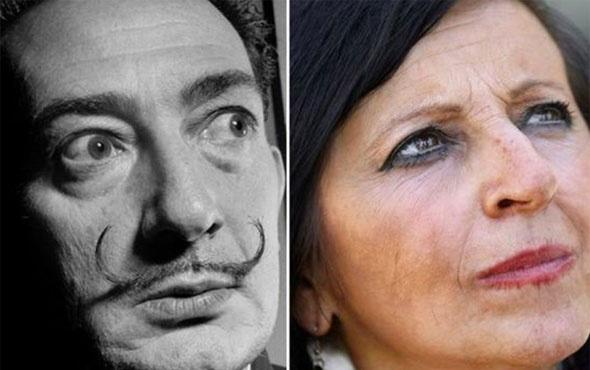 'Salvador Dali'nin kızıyım demişti DNA testi sonuçlandı