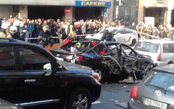 Kiev'de patlama oldu! Ölü ve yaralılar var