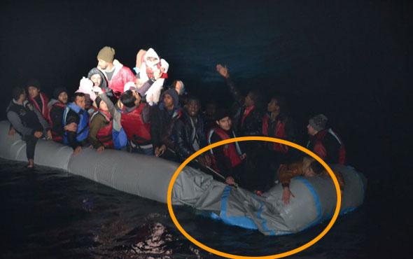 Patlak bot faciasını Sahil Güvenlik önledi! Müthiş operasyon...