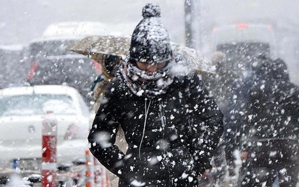 Çorum hava durumu meteoroloji kar alarmı verdi