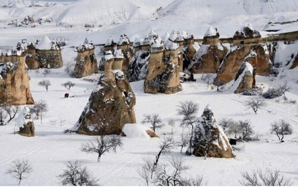 Nevşehir'de pazartesi okullar tatil mi valiliğin 15 Ocak kararı