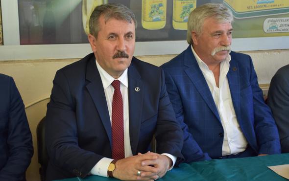 Mustafa Destici'den çarpıcı Abdullah Gül açıklaması!
