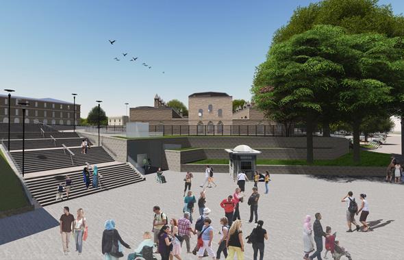 Arkeologlar da işin içinde Beyazıt meydanı projesine bakın