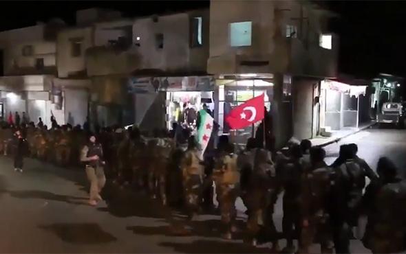 En çok izlenen Afrin video görüntüsü! Yolda çekildi