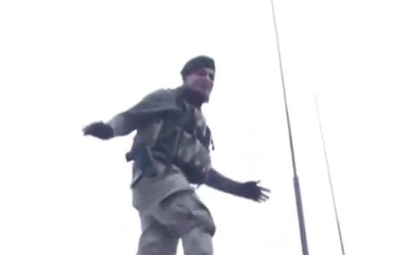 Bordo bereli askerin sözleri sosyal medyayı salladı!