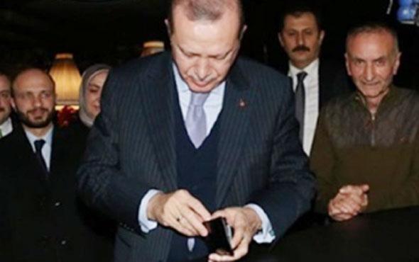 Erdoğan 'çok özlemişim' dedi ve hesabı ödedi! Neyi özlemiş?