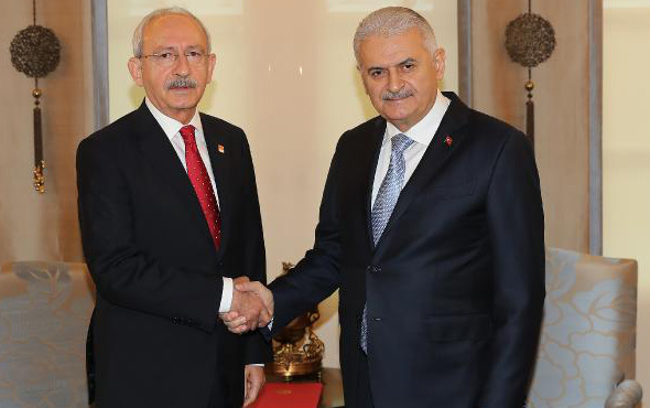 Başbakan Yıldırım Kılıçdaroğlu ile görüştü