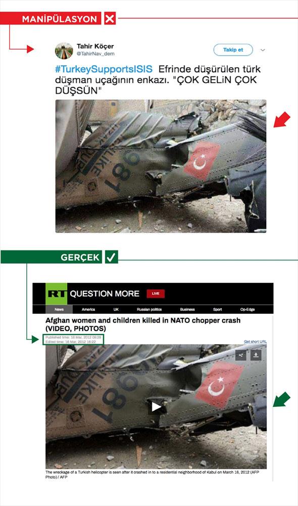Afrin yalanları! 7 fotoğraf ve 7 gerçek bunlara bakın