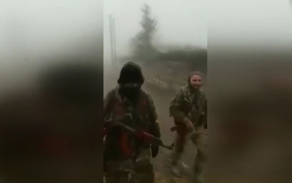 Afrin'de Üsteğmenin şehit düştüğü köy teröristlerden alındı