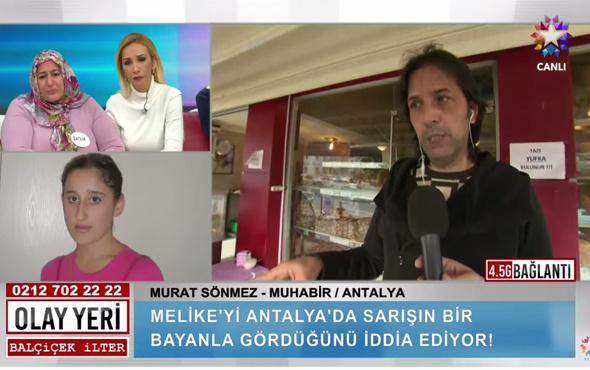 Olay Yeri Melike Toyguncu Antalya'da mı canlı yayında olay açıklama