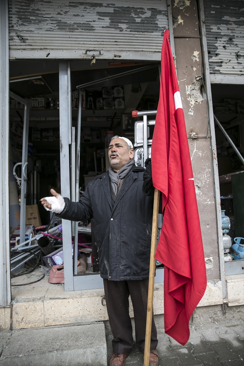 'Yaralı halimle teröristlerle mücadele ederim'