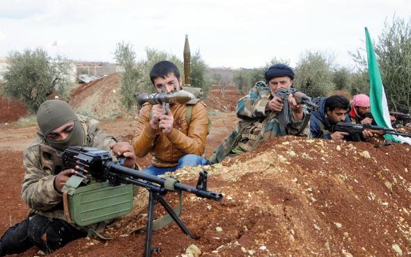 ÖSO bünyesindeki Kürt savaşçılar, YPG'ye karşı