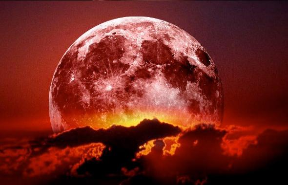 Süper Kanlı Ay tutulması nedir nasıl olur saat kaçta olacak?