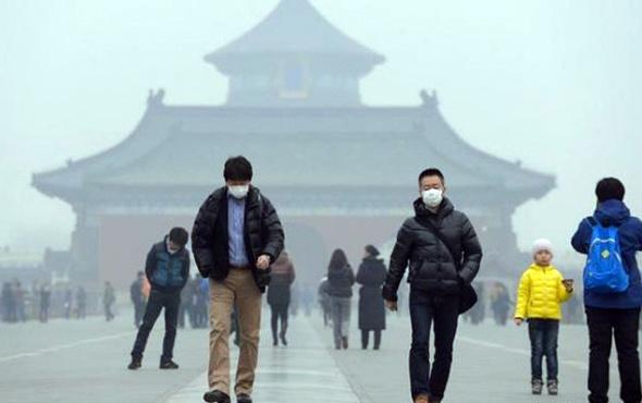 Çin'den hava kirliliği için 3 milyar dolarlık rekor yatırım