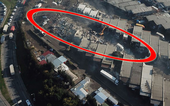 İstanbul'da gece yarısı başladı! Tek tek yıkılıyor