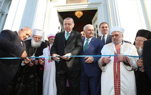 Erdoğan'dan kilise açılışında AB'ye ince mesaj