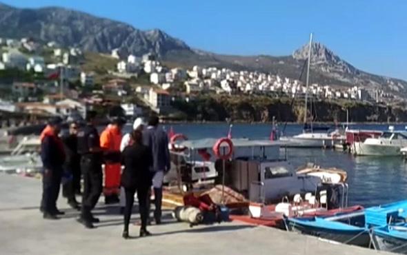 İzmir'de tekne battı! Ölüler var 30 kişi kayıp